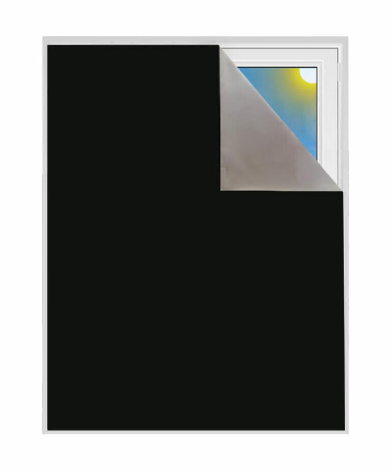 Verdunkelungsstoff 100% verdunkelnd blackout metwerware schwarz