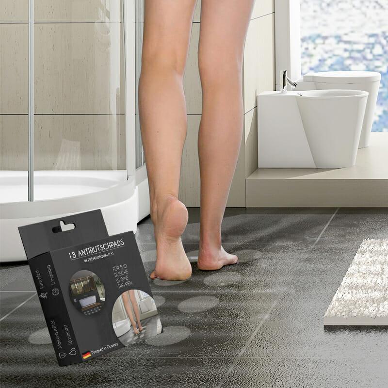 Anti Rutsch aufkleber rund badezimmrt dusche